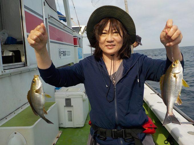 マアジ&イサキ船